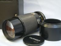 *CASED* Tamron AD2 80-210MM 3.8-4 Zoom Macro Lens + Hood  £12.99